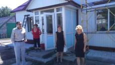 У Покровському районі ведуться роботи з капітального ремонту фельдшерського пункту у селі Сонцівка