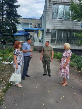 27 липня 2021 року під головуванням Володимира Колосова , заступника голови Покровської райдержадміністрації, відбулась виїзна нарада в Мар