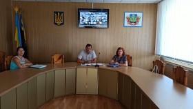 Відеоконференція в залі засідань Покровської РДА