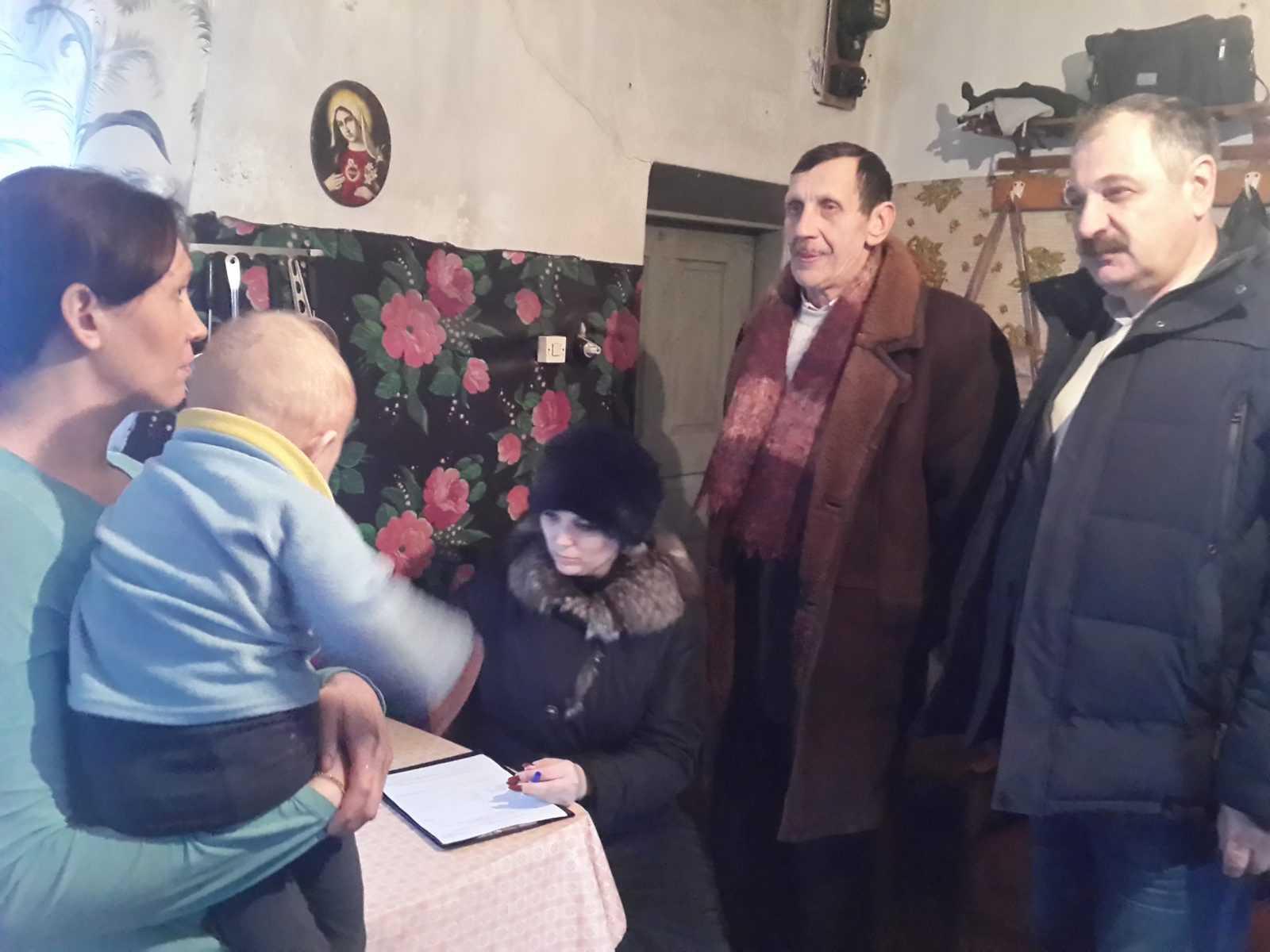 Зустрічі з мешканцями сіл Петрівка та Сонцівка