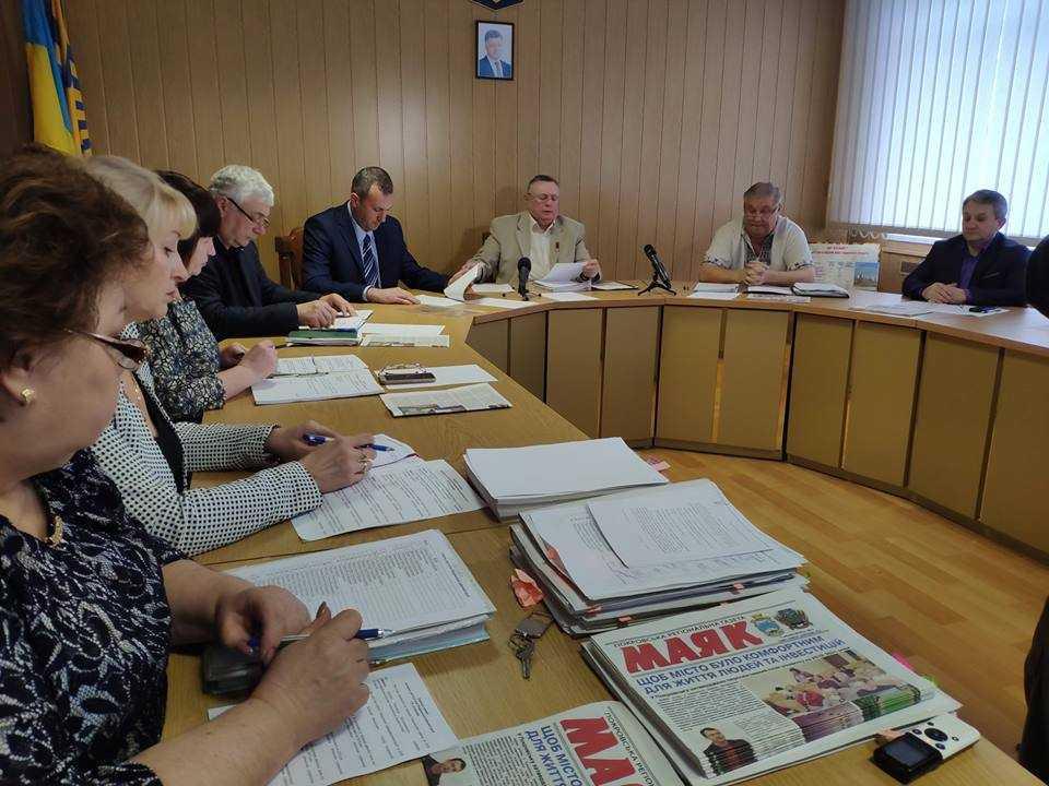 Засідання сесії Покровської районної ради