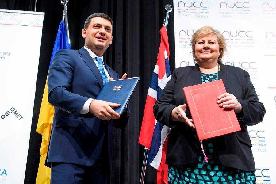 Україна та Норвегія започаткували стратегічні ініціативи та угоди у сфері енергоефективності та «чистої» енергетики