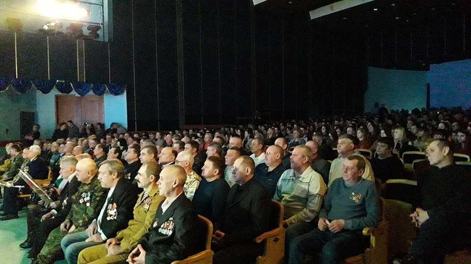 Урочистості з нагоди 30-ї річниці виведення військ з Афганістану.