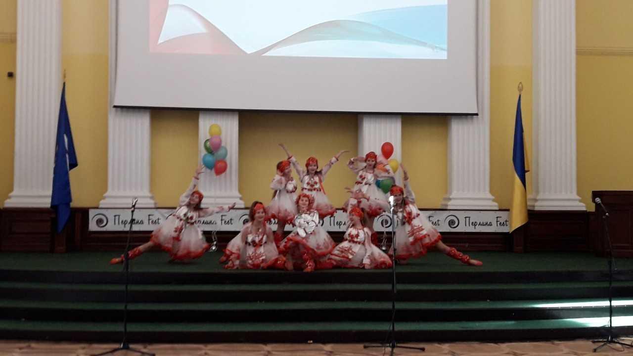 Зразковий танцювальний колектив «Натхнення» прийняв участь у 7-ому міжнародному конкурсі-фестивалі дитячо-юнацької творчості «Перлина Fest»