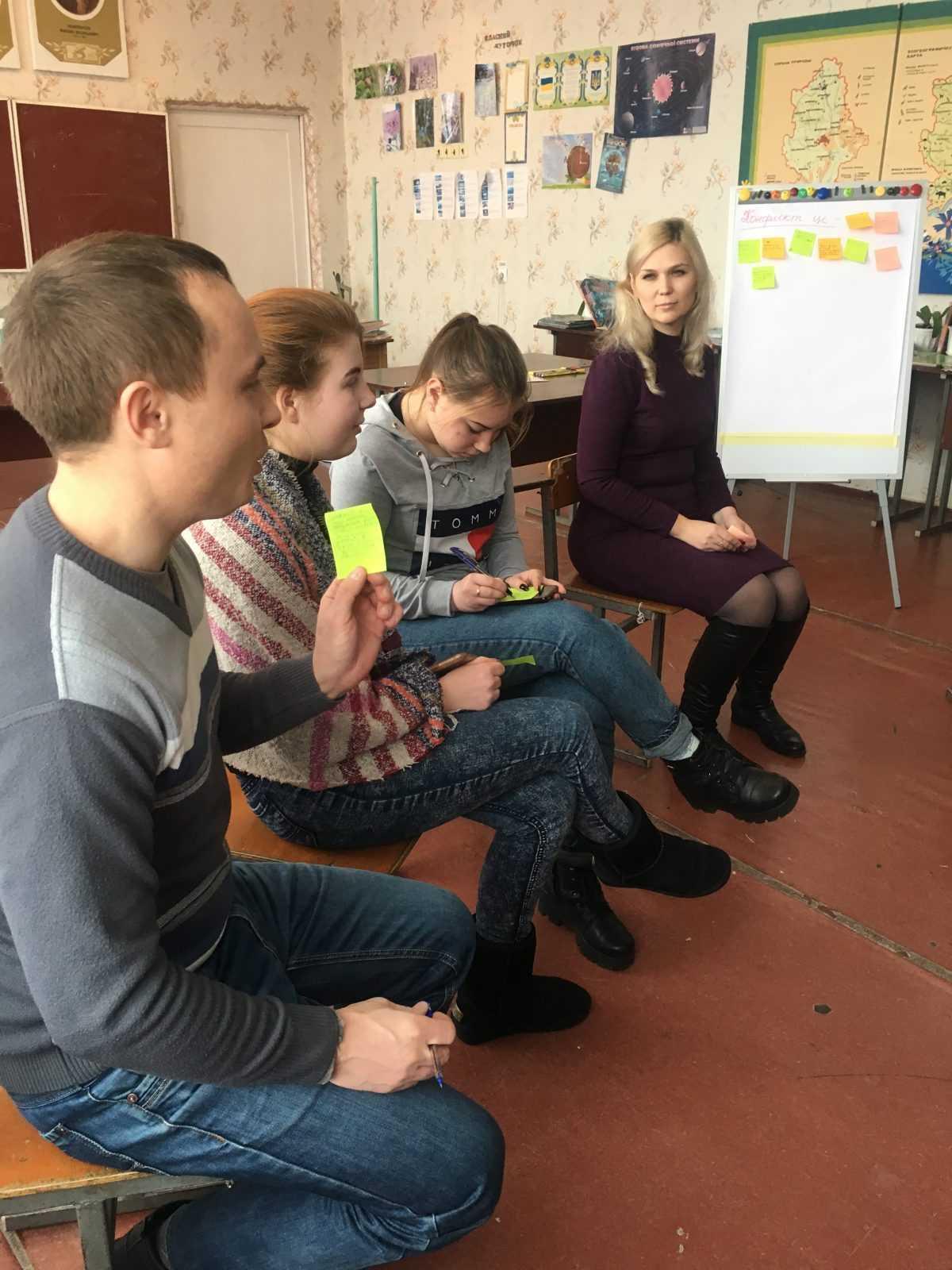 Тренінг у Сергіївському НВК:  «Готовність до вирішення проблем і вміння вирішувати конфлікти».