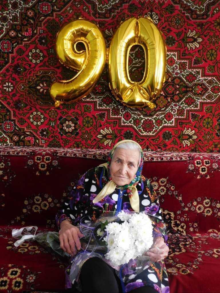 Yzobrazhenye 478 - Прекрасний вік 90!Його прожити не так то просто!