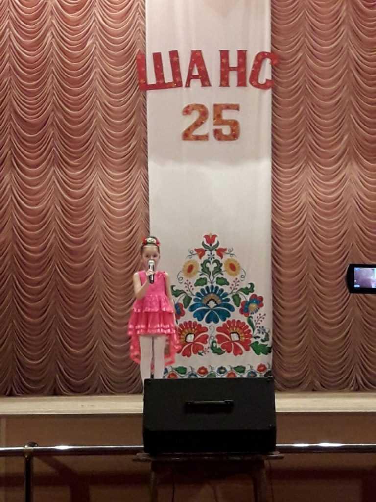 Двадцять п'ятий ювілейний районний конкурс дитячої художньої самодіяльності «Шанс 2019»