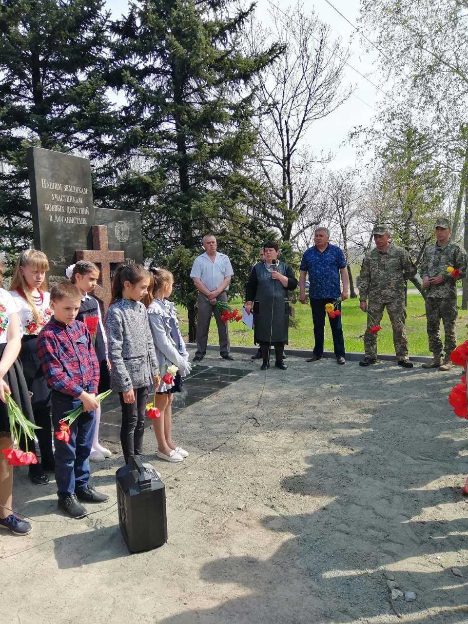 Районний пам'ятний мітинг до Дня Чорнобильської трагедії