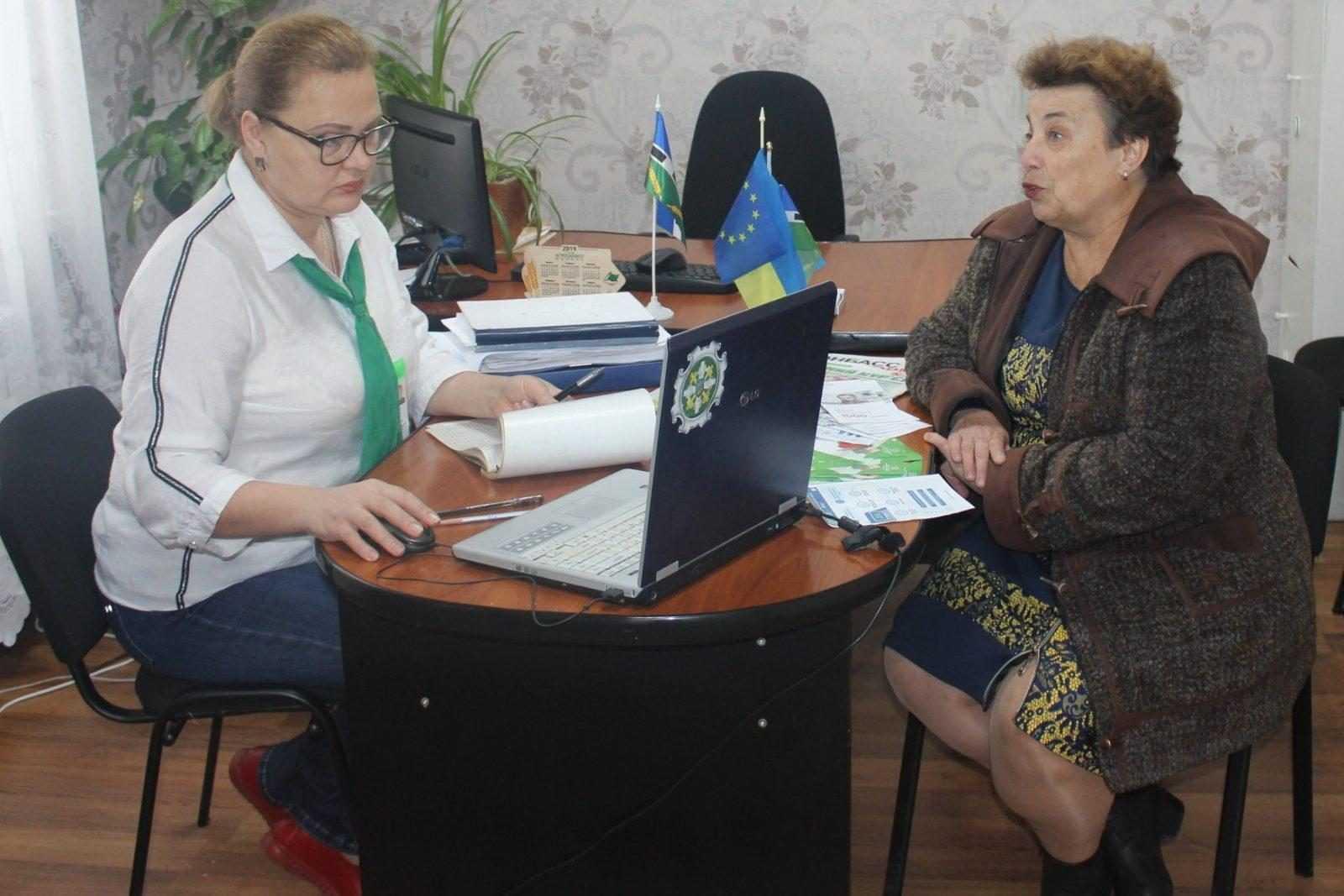 Про контроль за набуттям страхового стажу розповіли мешканцям Сергіївки під час виїзного прийому