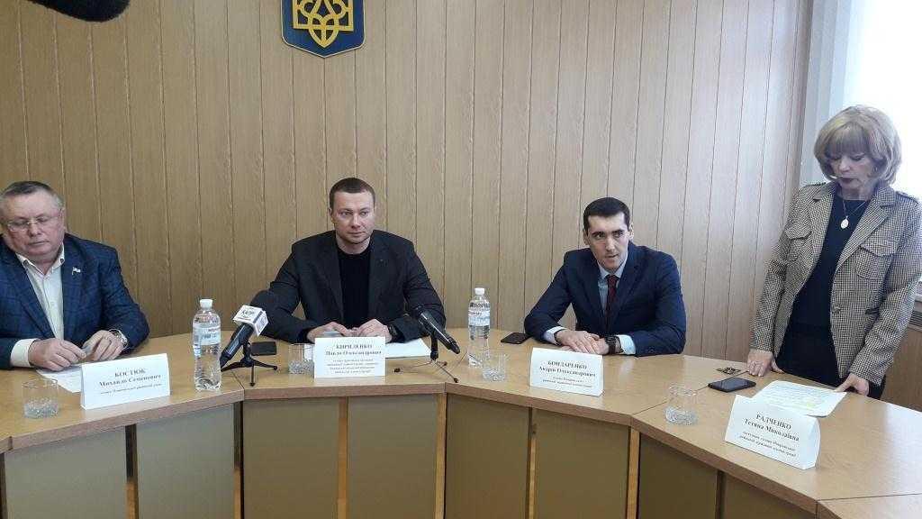 Представлено нового голову райдержадміністрації-Андрія Бондаренка