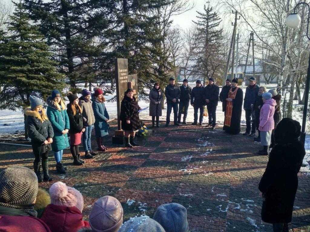 В смт. Новоекономічне відбувся пам'ятний мітинг з нагоди 31-ї річниці виведення військ з Афганістану