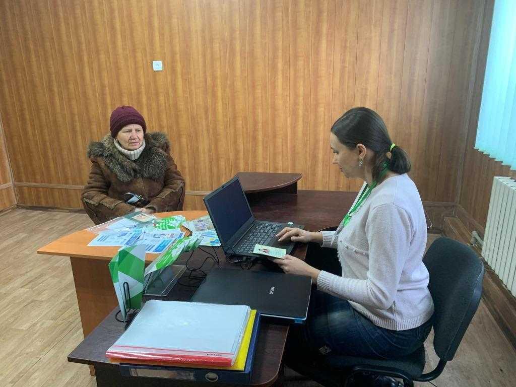 Виїзд пенсійників до віддаленного села Покровського району